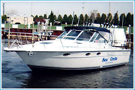 seacrete fishing charters port of grand haven michigan