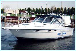 Seacrete fishing charters port of michigan city for Michigan city fishing charters